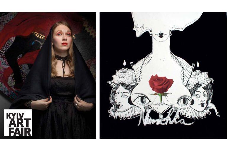 """Kyiv Art Week: Перформанс до графічного роману Ніни Мурашкіної """"Ninochka"""""""