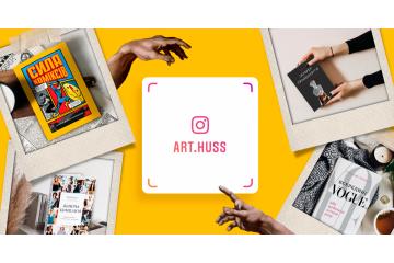 Підписуйтесь на інстаграм та Youtube-канал видавництва ArtHuss